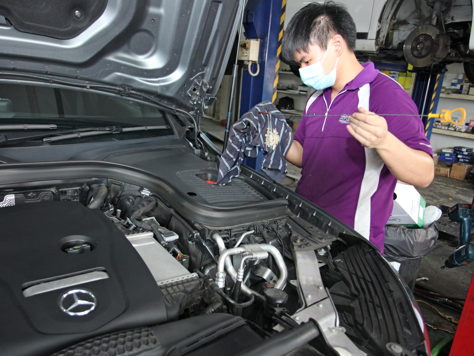Mercedes-Benz GLC Class 60K Major Servicing Package