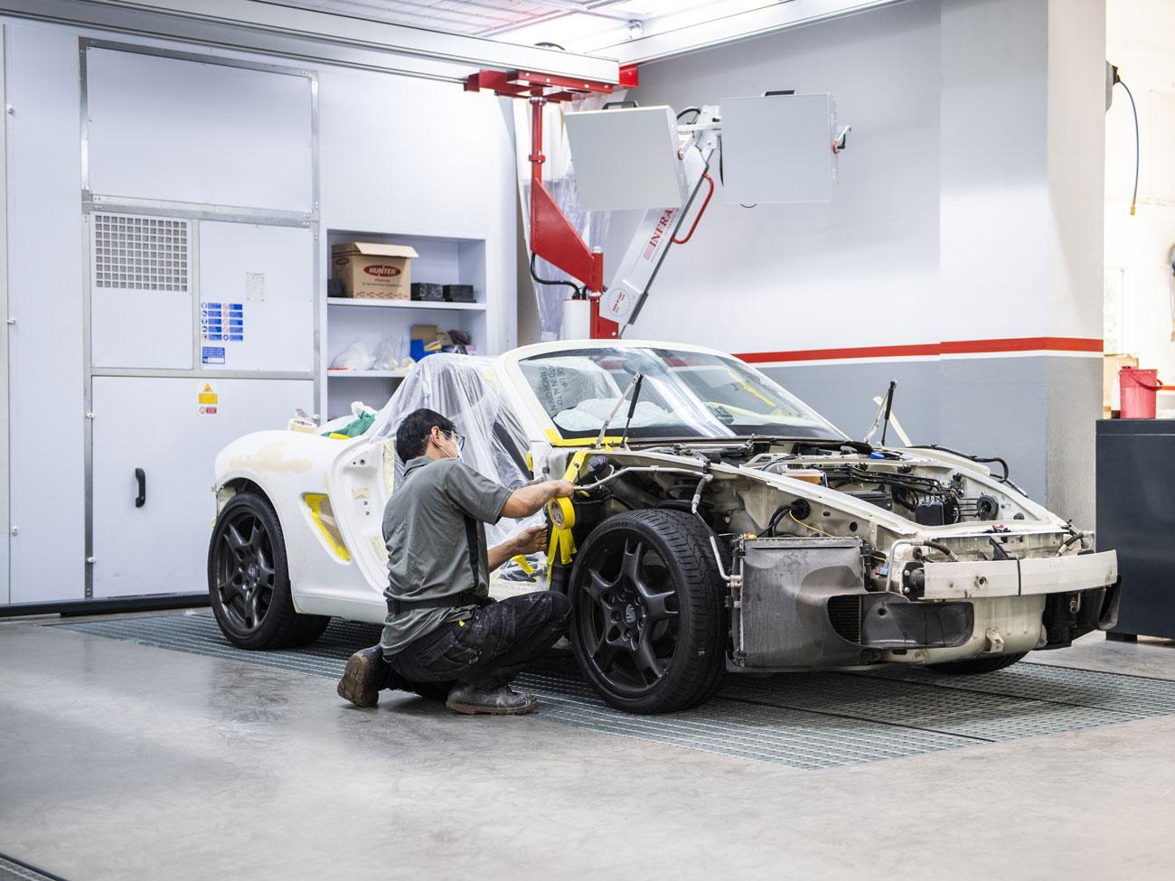 AXA Authorised Workshop Car Accident Repairs