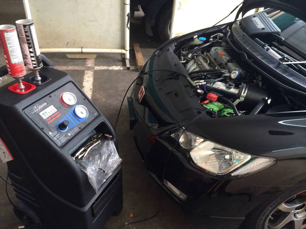 TerraClean Fuel Save Car Engine Decarbonisation