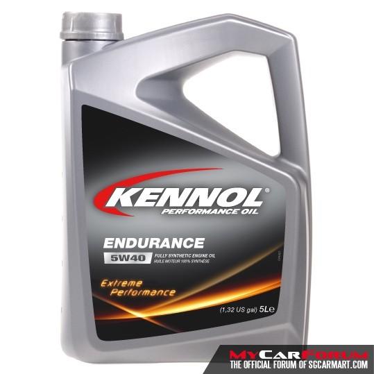 Kennol 5W40 Endurance Fully Synthetic Car Engine Oil 5L