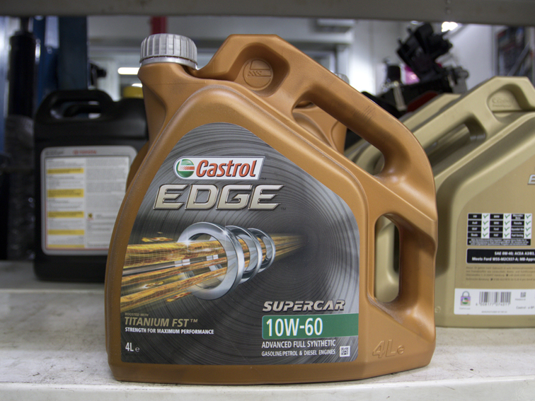 4L Castrol EDGE 10W60 Japanese / Korean / Continental Vehicle Servicing Package
