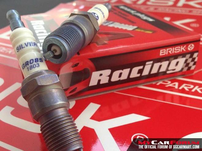 Brisk Silver Racing High Performance Spark Plug