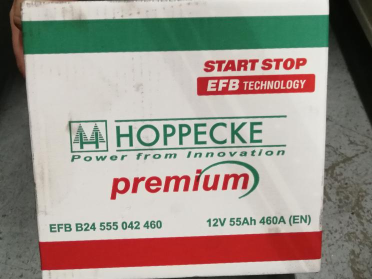 Germany Hoppecke EFB For Start-Stop Function Cars Battery