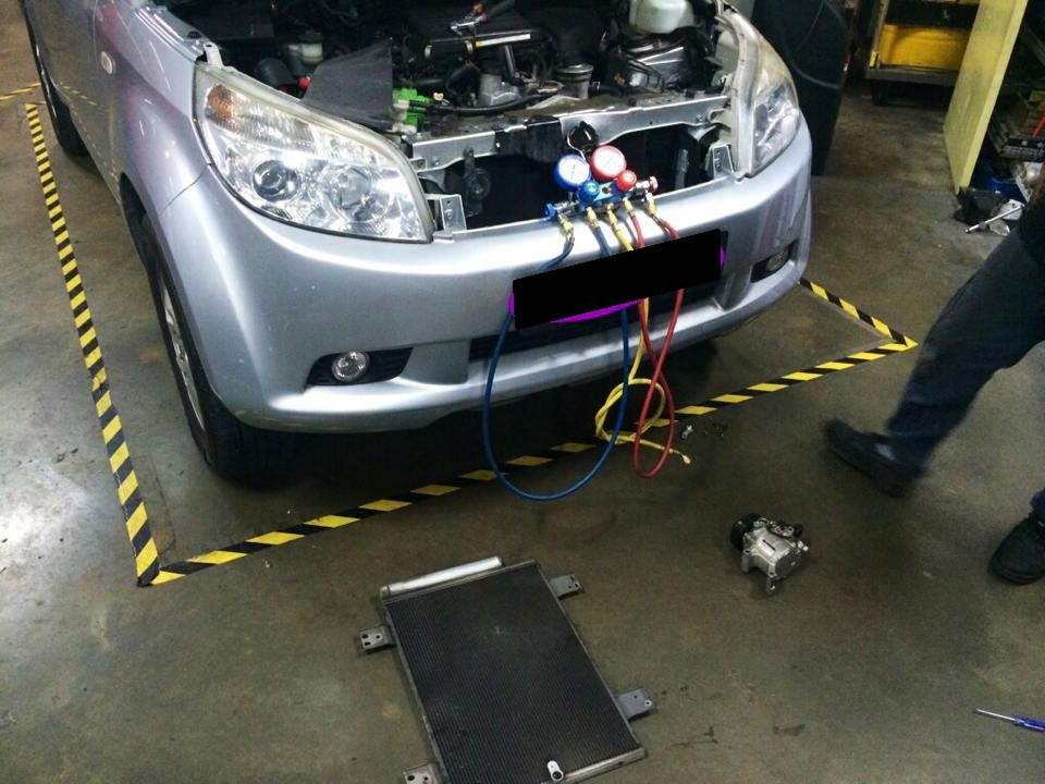Car Aircon Gas Top Up & Checks Service