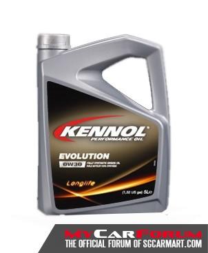 Kennol Evolution 0W30 Synthetic Car Engine Oil 2L