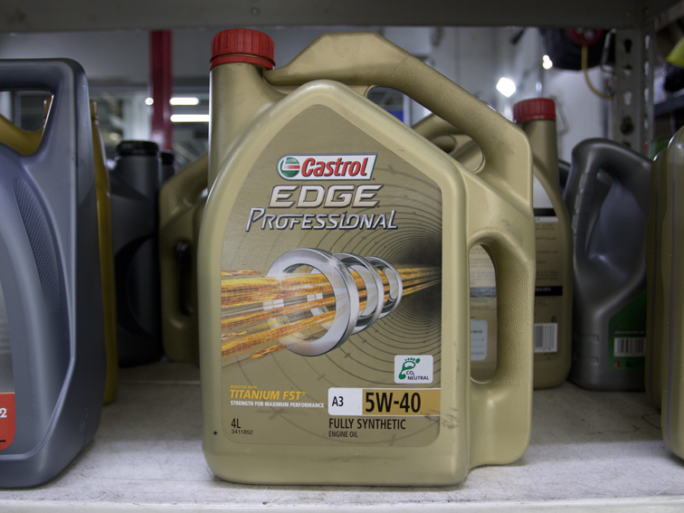 4L Castrol EDGE Professional 5W40 Japanese / Korean / Continental Vehicle Servicing Package