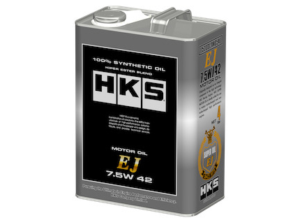 HKS EJ (7.5W42) Engine Oil & Vehicle Servicing Promo Package