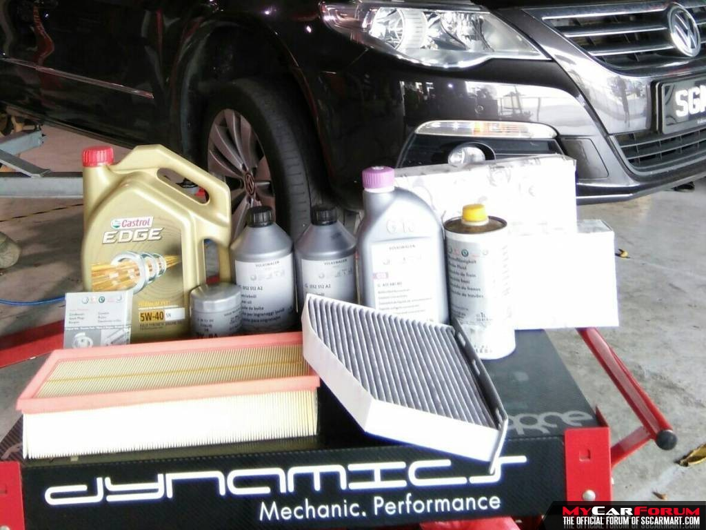 Audi A1 Castrol EDGE Titanium Fully Synthetic 5W40 Major Vehicle Servicing