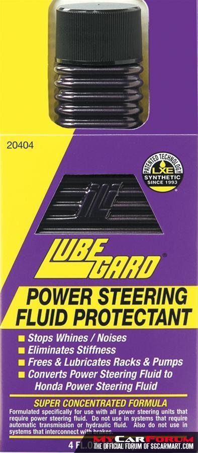 Lubegard Power Steering Fluid Protectant