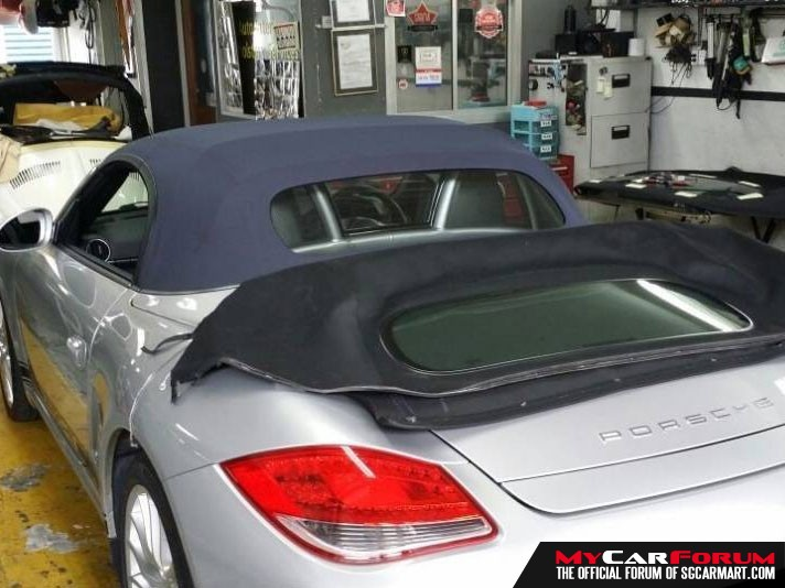 Car Convertible Softtop and Rear Glass Repair Services
