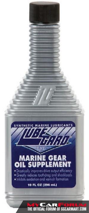 Lubegard Marine Improve Drive Output Gear Oil Supplement