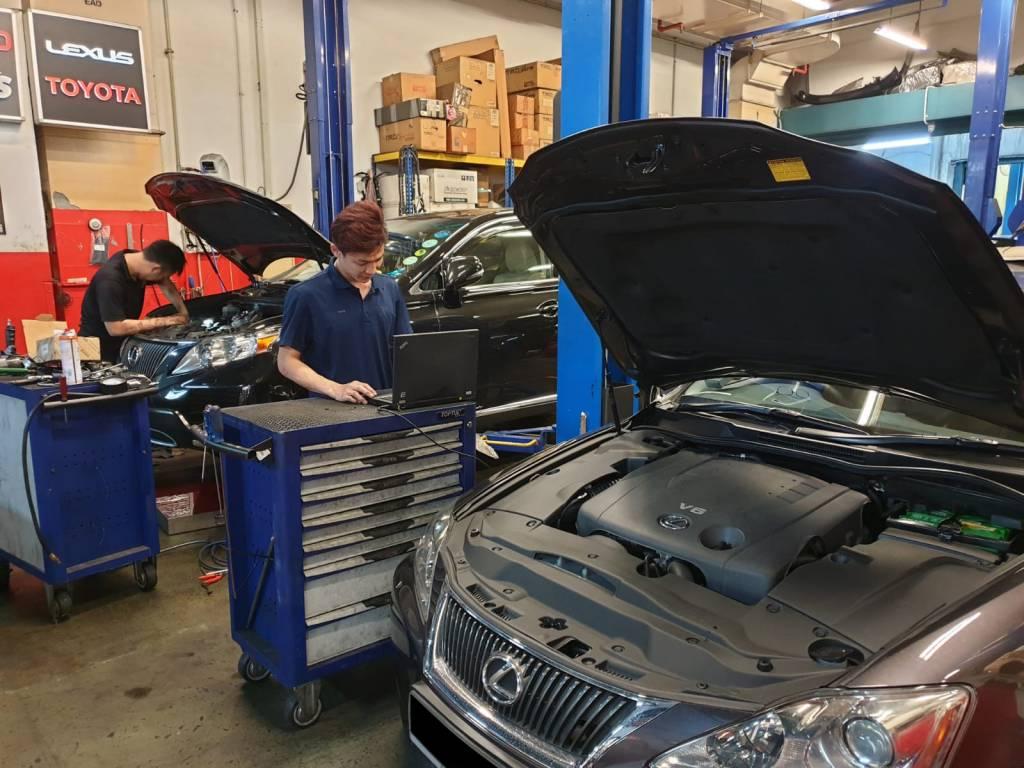 Lexus Petrol & Hybrid Cars Diagnostic Servicing Package