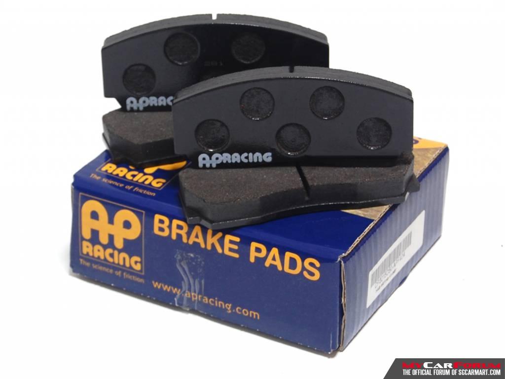AP Racing 2 To 6 Pot Brake Pad