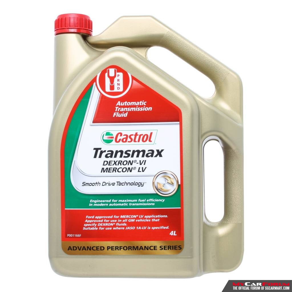 Castrol Transmax Dex/Merc ATF Vehicle Servicing