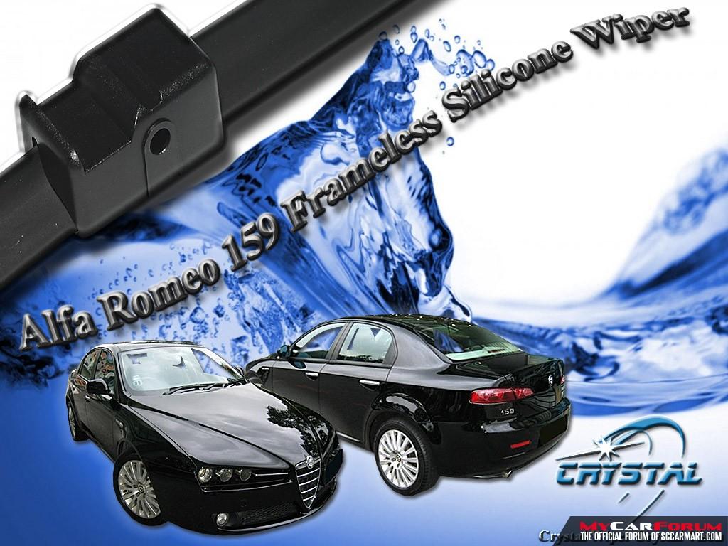 Alfa Romeo 159 Crystal Frameless Silicone Wiper