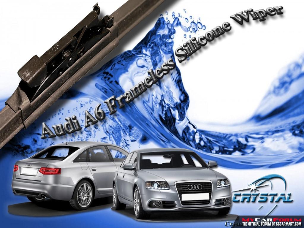 Audi A6L Frameless Silicone Wiper