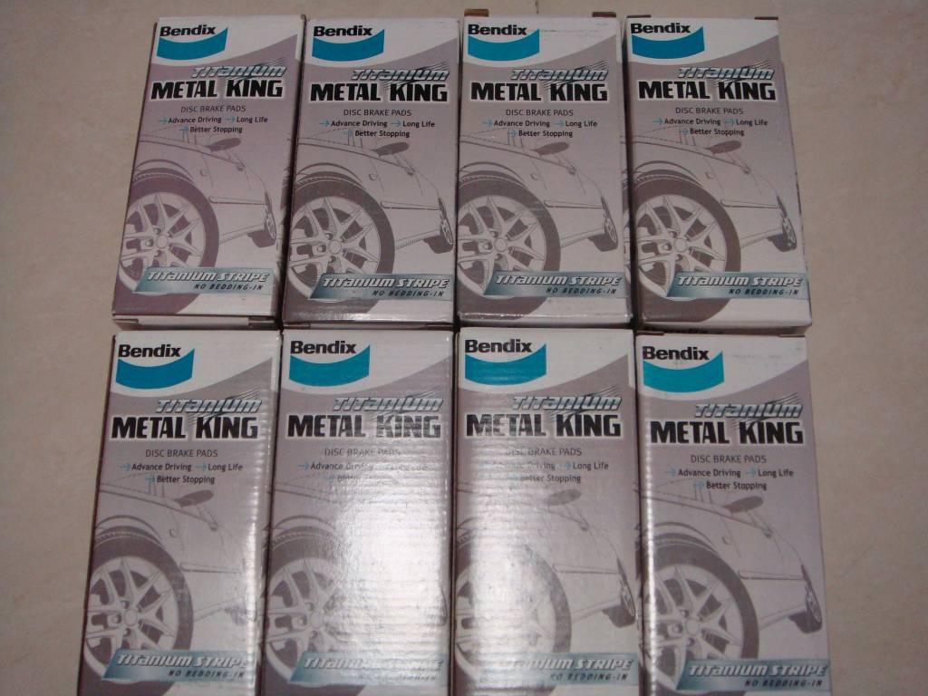 Perodua Myvi Bendix Metal King Brake Pads