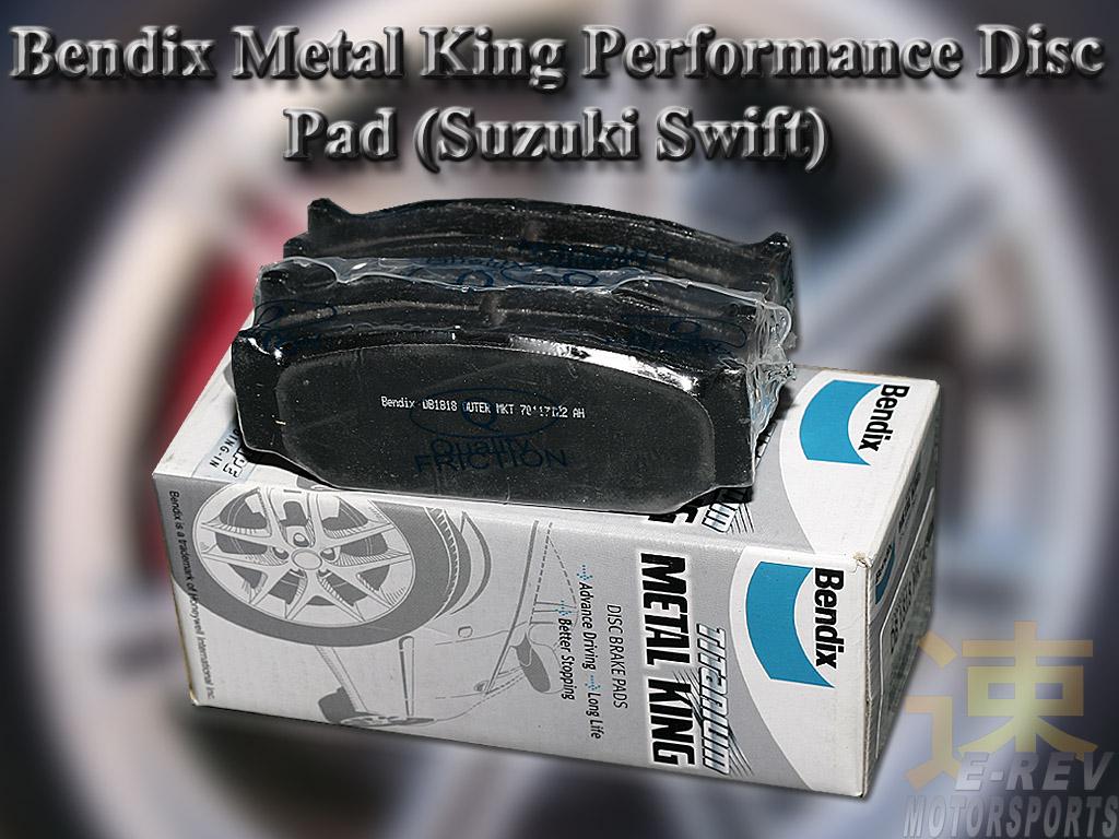 Suzuki Swift Bendix Metal King Brake Pad