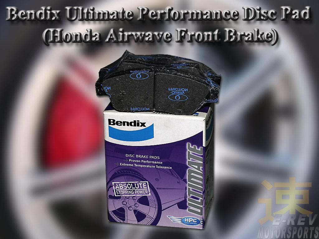 Honda Airwave Bendix Ultimate Brake Pad