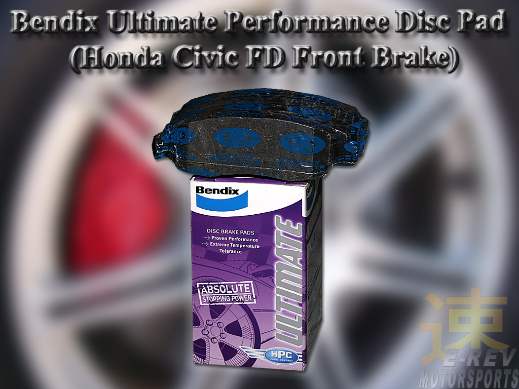 Bendix Performance Brake Pad