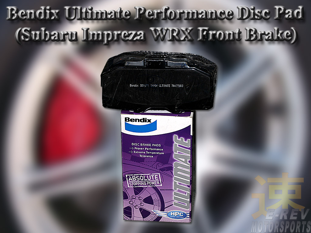 Subaru Impreza WRX Bendix Performance Brake Pad