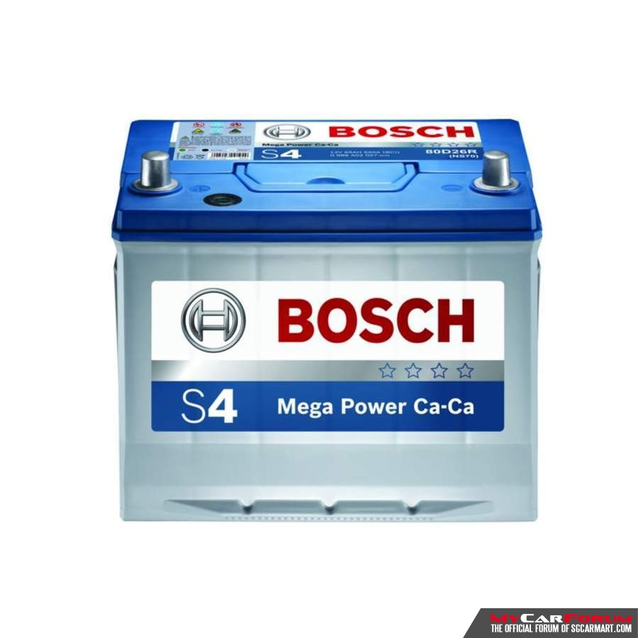 Bosch S  Car Battery