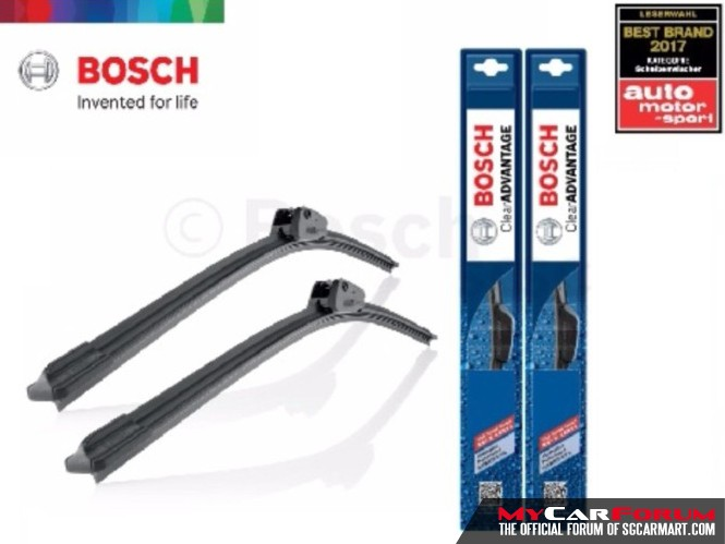 Bosch Clear Advantage Wipers (1 Set)