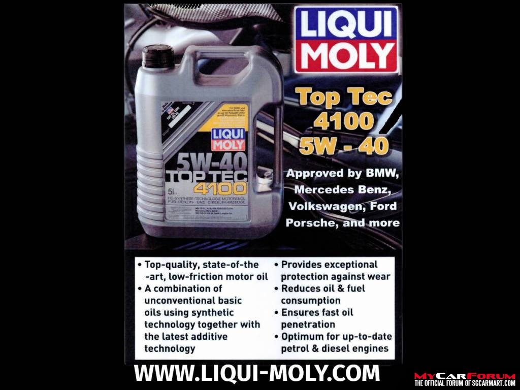 Liqui Moly Servicing Packages