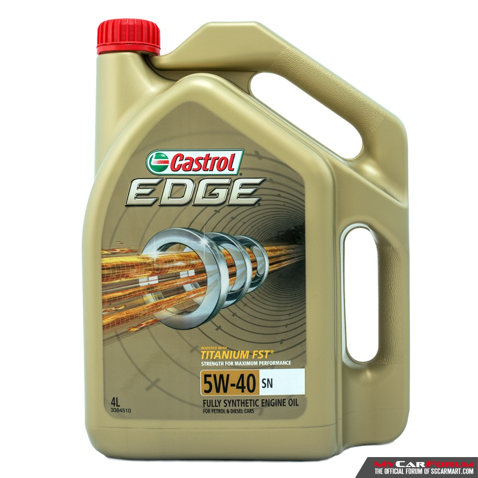 Castrol EDGE 5W40 Vehicle Servicing