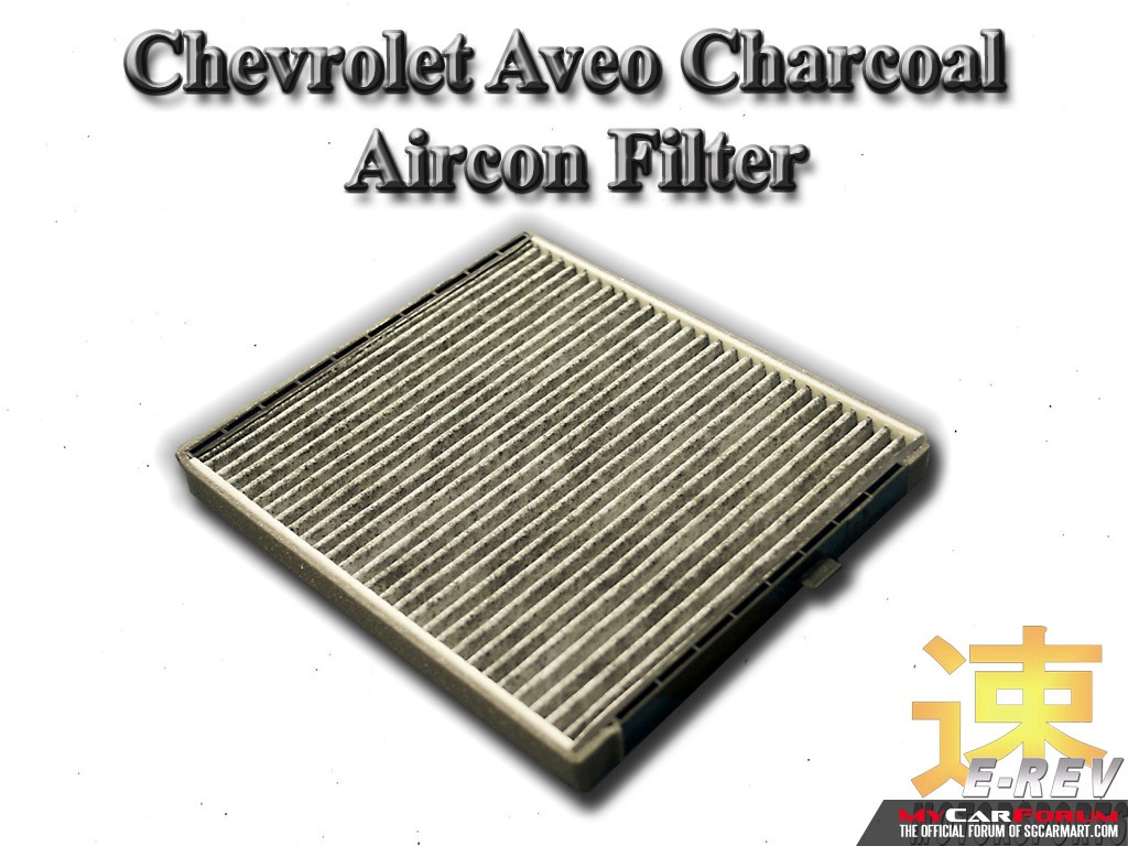 Chevrolet Aveo Charcoal Aircon Filter