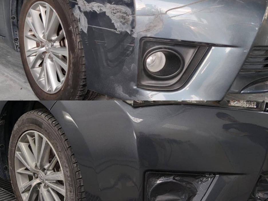 Front / Rear Car Bumper Repair & Respray Service