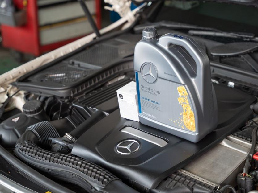 Genuine Mercedes-Benz Engine Oil SAE 5W40 Vehicle Servicing (For Mercedes-Benz S-Class)