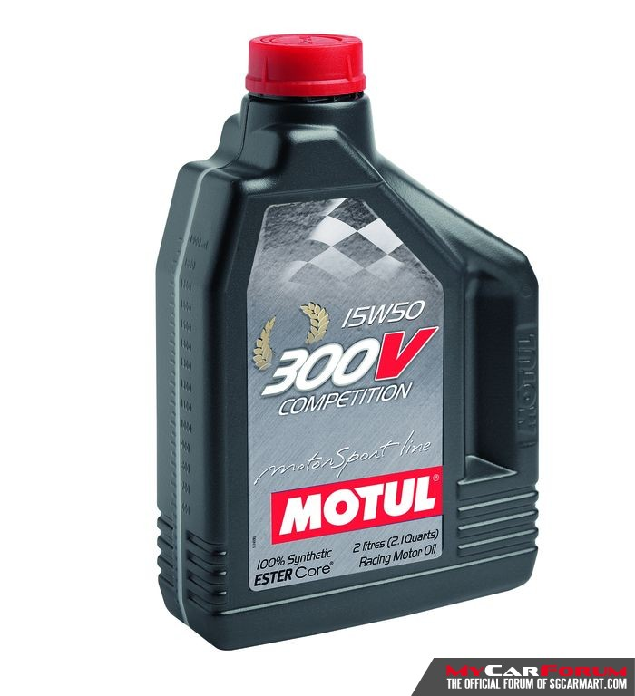 Motul 300V Competition 15W50 Engine Oil