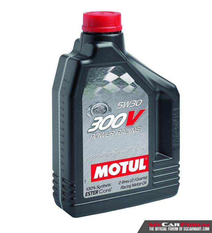 Motul 300V Power Racing 5W30 Car Engine Oil (2L)