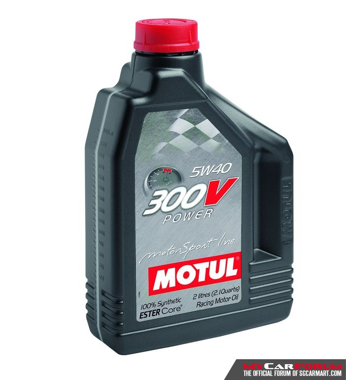 Motul 300V Power 5W40 Engine Oil