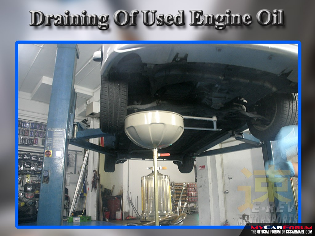 Motul 15W50 Fully Synthetic Engine Oil Servicing