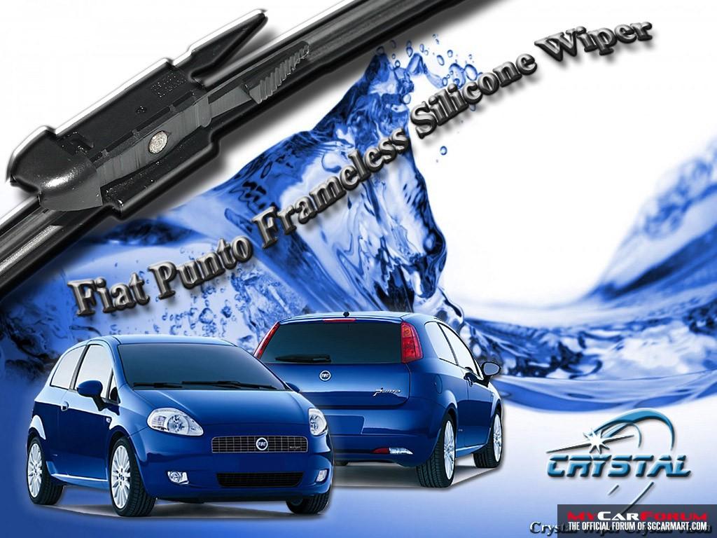 Fiat Punto Frameless Silicone Wiper