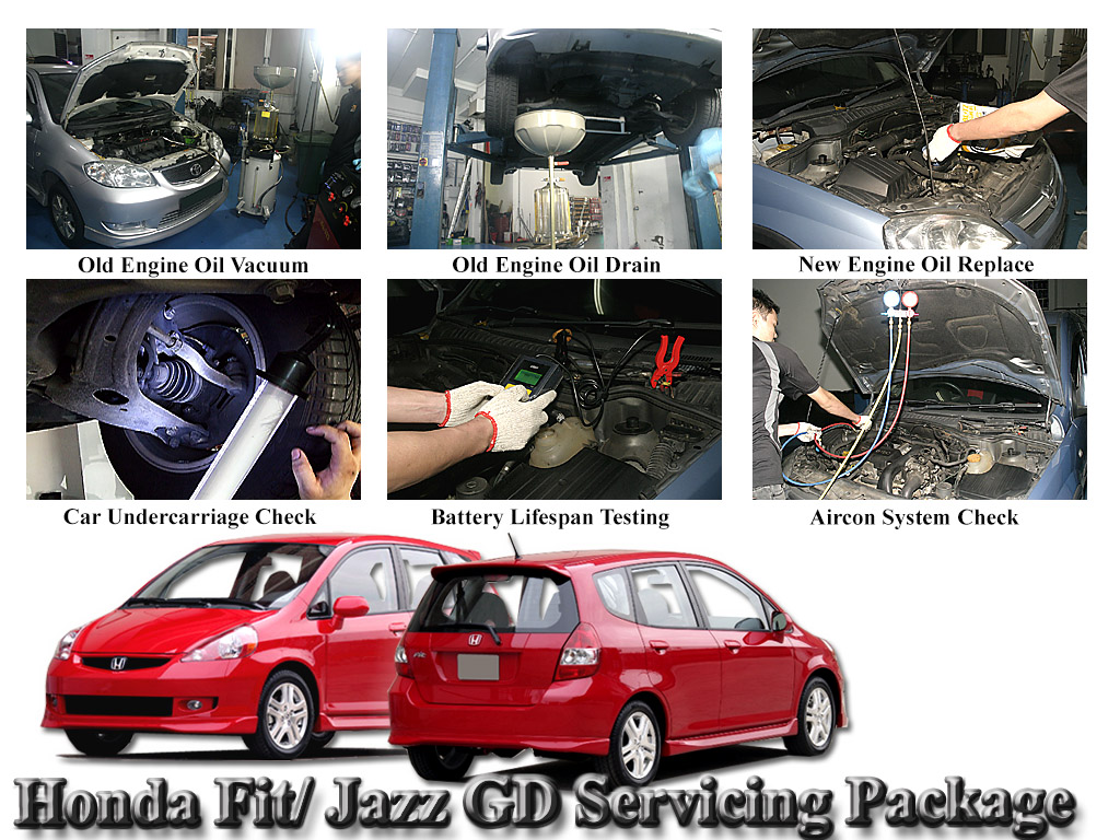 Fully Synthetic Servicing Pkg For Honda Fit