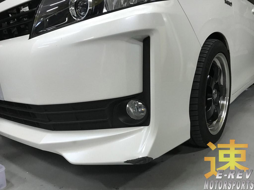 Front Bumper Damage Repair