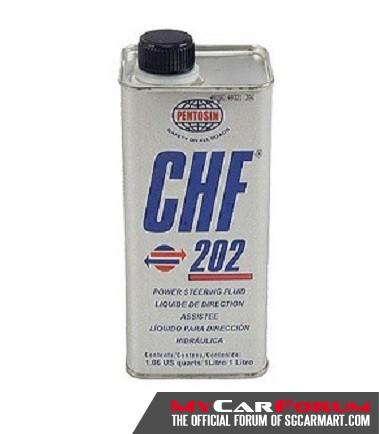 Pentosin CHF 202 Luxury Sedan Car Steering Wheel Fluid
