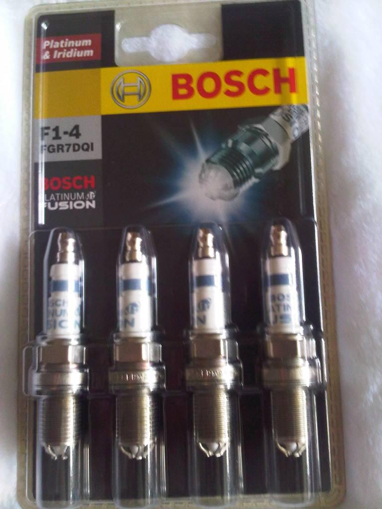 Bosch IR Fusion Platinum Iridium Spark Plugs (FGR7DQI)
