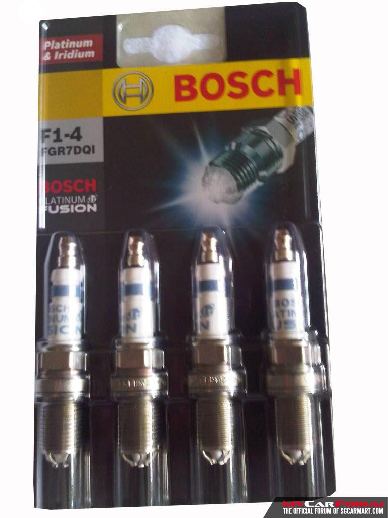 Bosch IR Fusion Platinum Iridium Spark Plugs (WGR8DQI)