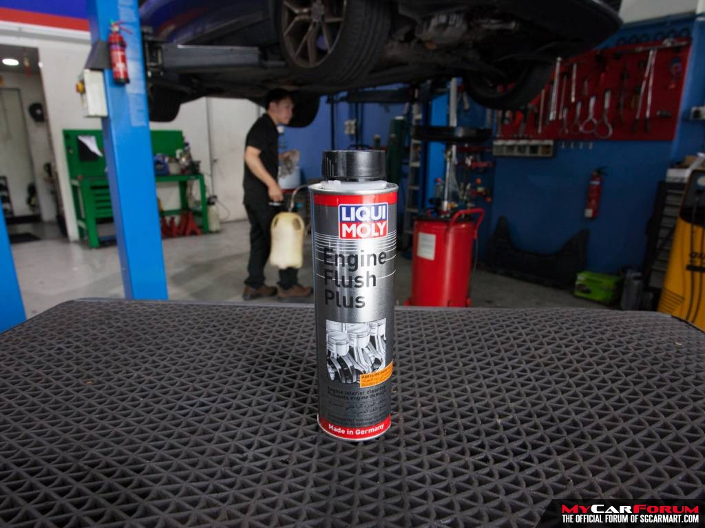 Liqui Moly Engine Flush Plus Engine Oil