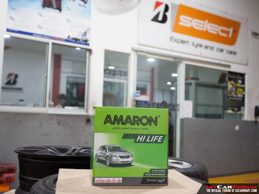 Amaron Hi-Life Battery