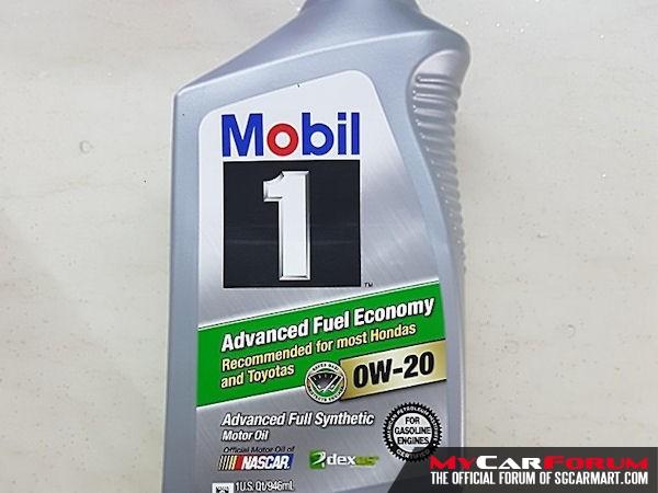 Mobil 1 0W20 Advanced Fuel Economy Engine Oil