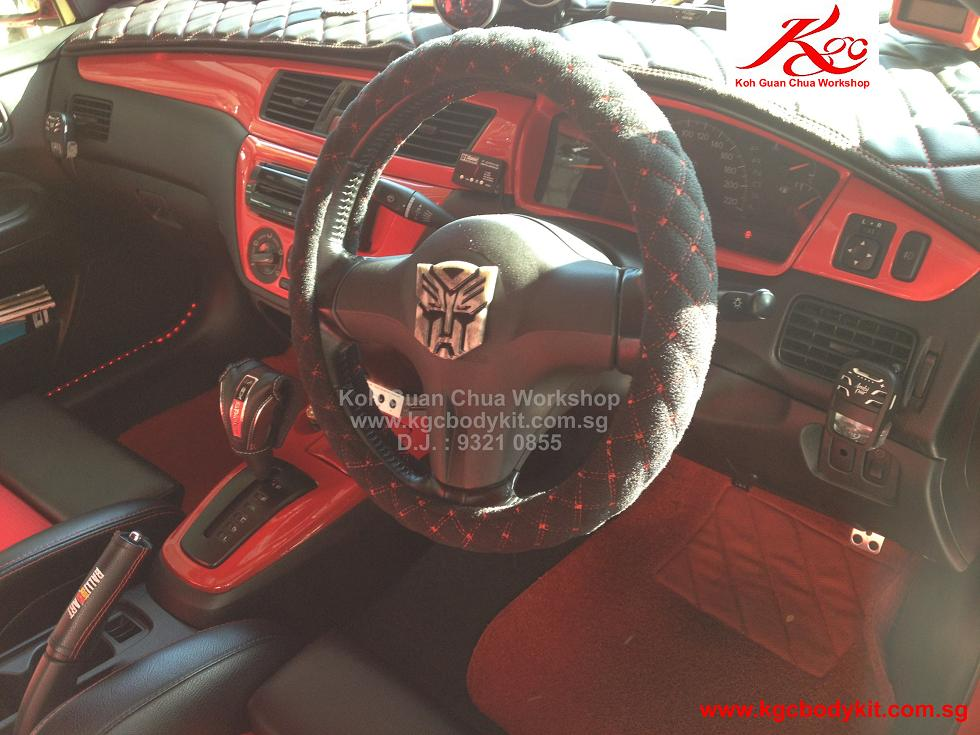 Interior Console Spray Painting Service At $50)