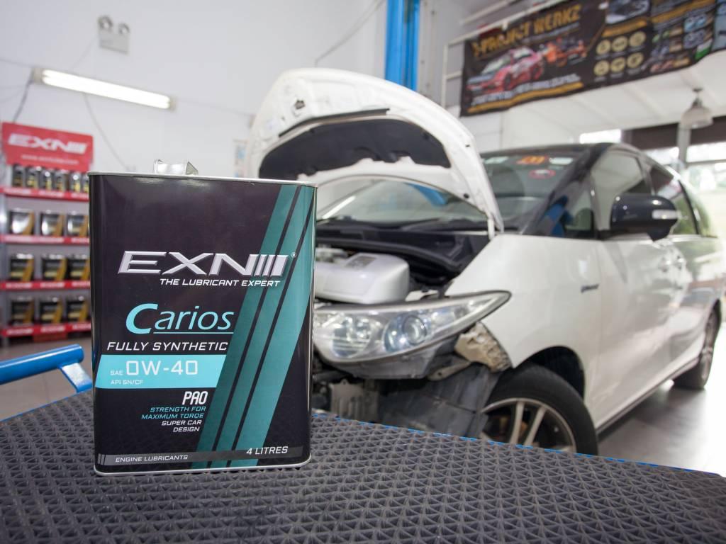 EXN Carios SAE 0W40 API SN/CF (Major Vehicle Servicing)