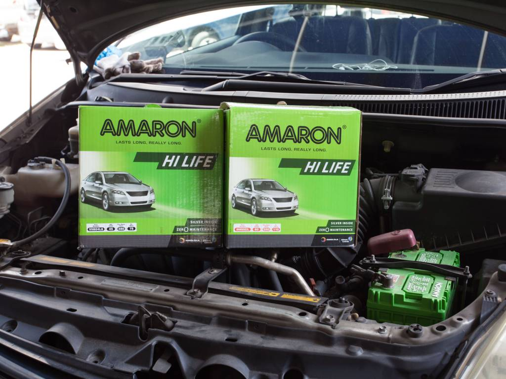 Amaron Long Lasting Car Battery