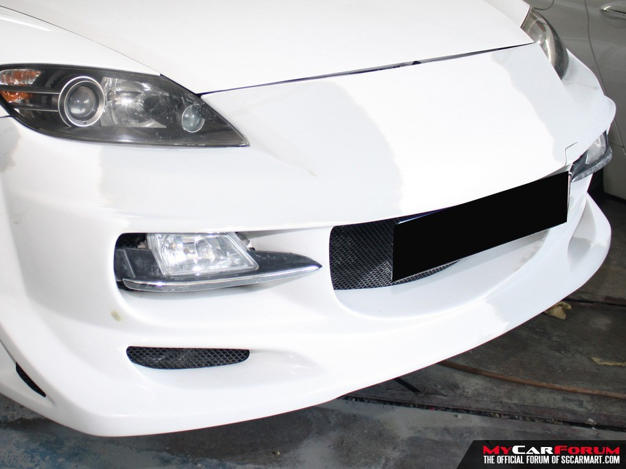 Spray Painting (Front Bumper)