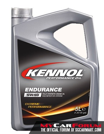 Kennol 5W40 Endurance (5L) Car Servicing Package